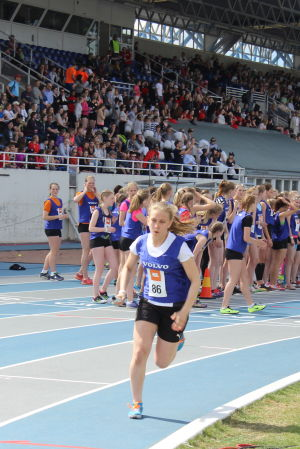 Julia Ahlskog ut på sista etappen