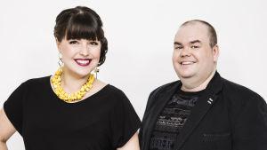 Eva Frantz och Johan Lindroos är De Eurovisa