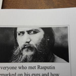 Rasputins brännande svarta blick