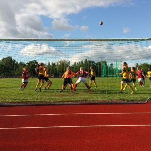 fotbollsmatch mellan åifk och piffen på pajbacka plan i Pargas.