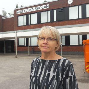 Kristiina Koli är rektor vid Winellska skolan.