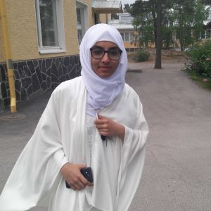 Sajal Maqsood firar id al-fitr i Vasa.