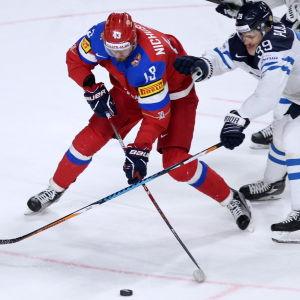 Valerij Nitjusjkin spelar ishockey för Ryssland.