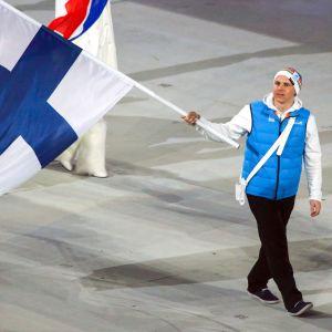 Matti Suur-Hamari på invigningens generalrepetition.