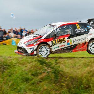 Juho Hänninen slutade fyra i VM-rallyt i Tyskland.
