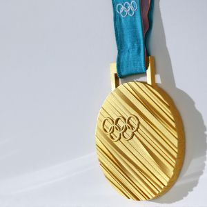 PyeongChangin talviolympialaisten kultamitali