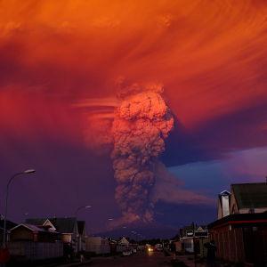 Vulkanutbrott i Chile