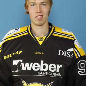 Richard Ullberg i SaiPa-dress tidigare i karriären.