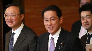 Japans utrikesminister Fumio Kishida.