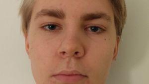 En bild av Otso Hultkranzts ansikte.