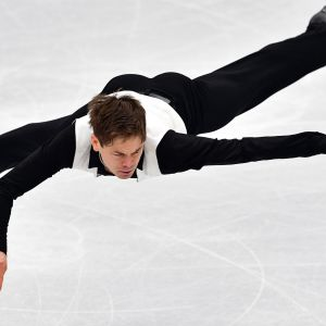 Valtter Virtanen vid EM i Moskva 2018.