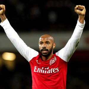 Thierry Henrys comeback i Arsenal.