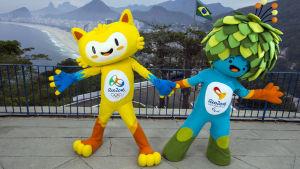 År 2016 ordnas sommar-OS i Rio de Janeiro.