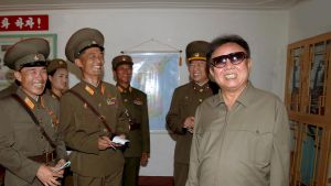 Nordkoreas ledare Kim Jong Il