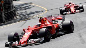 Kimi Räikkönen, Sebastian Vettel.
