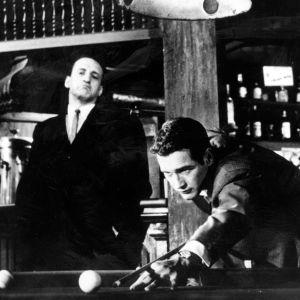 Paul Newman elokuvassa Suurkaupungin hait, taustalla George C. Scott
