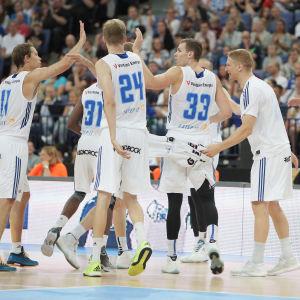 Basketlandslaget.