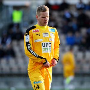 Markus Jurgenson ser ledsen ut.