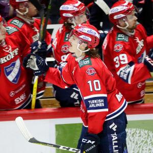 HIFK spelar ishockey i Ligan.