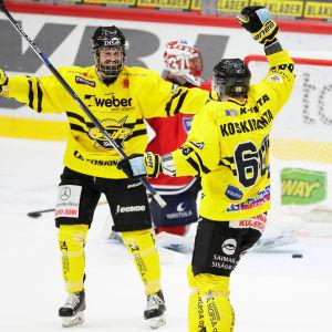 SaiPa firade en bortaseger med 3-1 över HIFK, 13.10.2016.