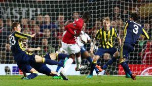 Paul Pogba gör mål i Europaligan.