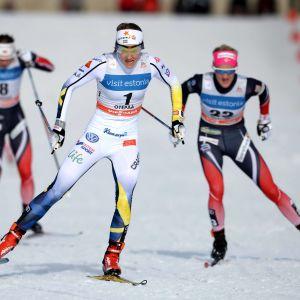 Stina Nilsson stort svenskt guldhopp i Lahtis.