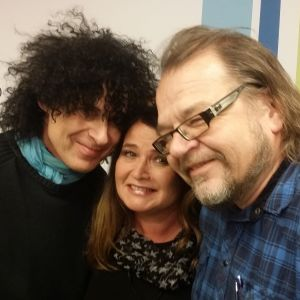 Jorma Hietamäki, Meiju Suvas ja Kalevi Pollari Levylautakunnassa