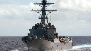 Den amerikanska jagaren USS Sampson