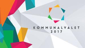Bildsättningsbild för kommunalvalet med logotyp