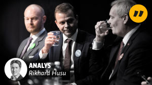 Sampo Terho, Petteri Orpo och Antti Rinne