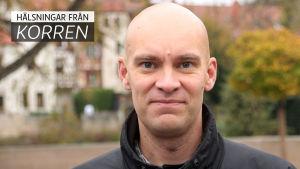 Profilbild på Johnny Sjöblom, korrespondent för svenska Yle i Tyskland