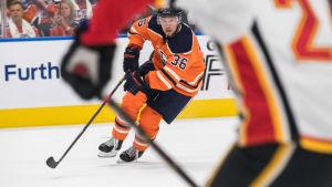 Jussi Jokinen, Oilers 2017.