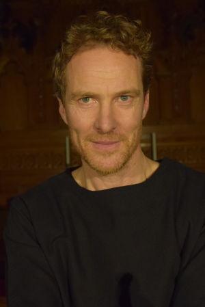 Skådespelaren Johan Fagerudd som Martin Luther