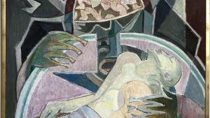 Den blinda materialismen, konstverk av Lennart Segerstråle.
