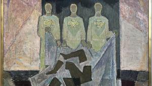 Våldets begraving (1973), konstverk av Lennart Segerstråle.