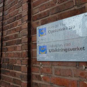 Utbildningsverket i Helsingfors.