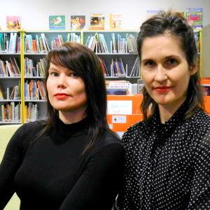 Hannele Mikaela Taivassalo och Malin Kivelä.