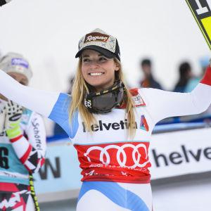 Lara Gut, specialist i super-G.