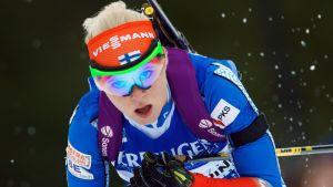 Mari Laukkanen i Ruhpolding 2016.