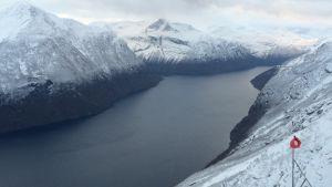 Åknesfjället i västra Norge