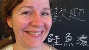 Närbild av Marina Catani, direktör för Borgå Museum
