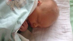 Baby Strandvall på BB i Karleby 9.11.2014.