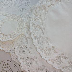 vita tårtpapper