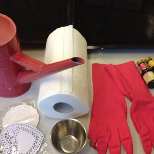 Tillbehör till färgning av tårtpapper