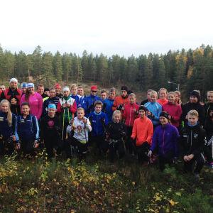 Finlands Svenska Idrotts SISU-team för uthållighetsidrottare f. 1999-2000, höten 2014