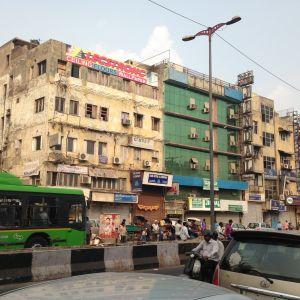 Delhin liikennettä