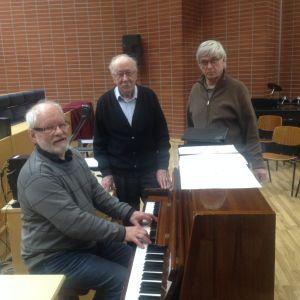 Lars Junell, Calle Sundman, John Storbacka i Gamlakarleby Manskör