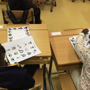 Förberedande undervisning i Haga skola i Vasa.
