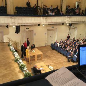 Rösträkning i det estniska presidentvalet