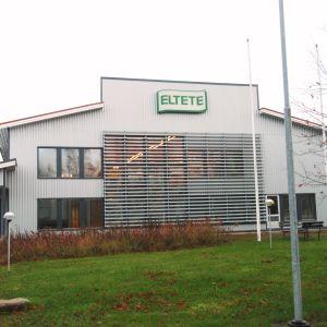 Företaget Eltetes huvudkontor i Lovisa